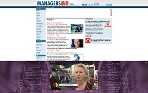 Logistiek manager van het jaar rich media