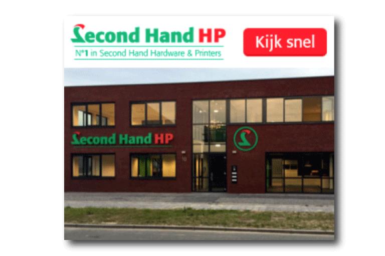 Second Hand HP Hardware en Printers Banner