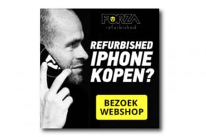Forza Refurbished iPhone kopen online banner