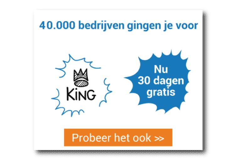 Probeer nu King HTML5 banner