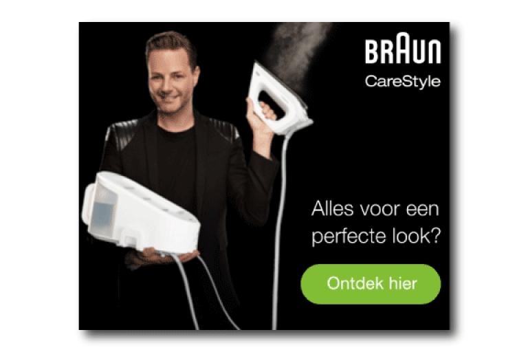 Braun banner voorbeeld