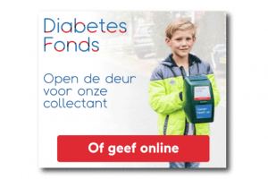 Diabetes Fonds banner voorbeeld