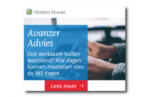 Wolters Kluwer banner
