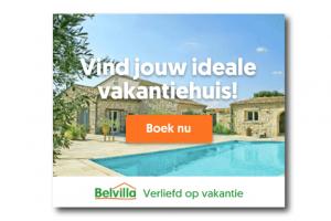 BelVilla banner voorbeeld