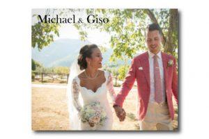 Michael en Giso trouwbanner