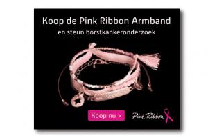 Pink Ribbon voorbeeld banner