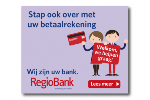 Regiobank online display banner