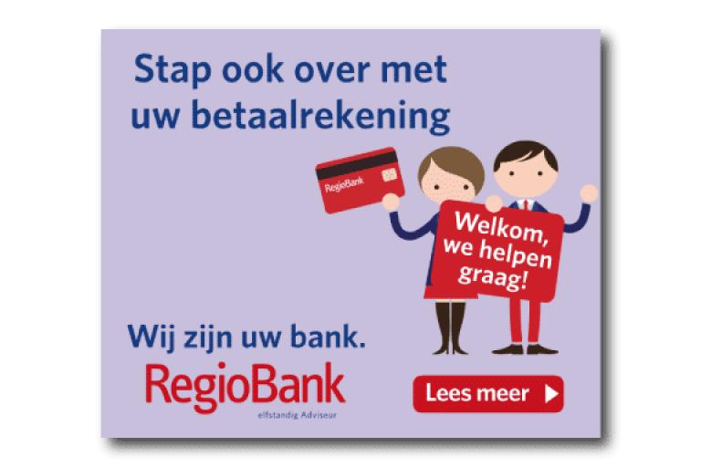 Regiobank online display banner