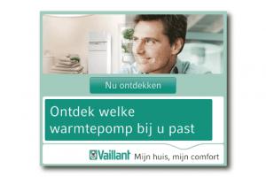 Vaillant warmtepomp Banner HTML5 casestudy