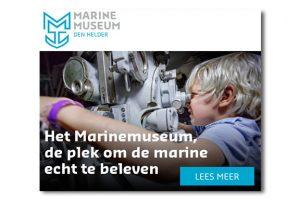 HTML5 banner Marine Museum
