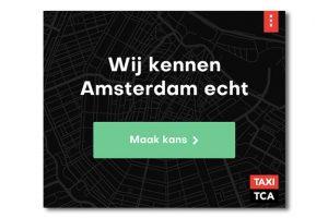 Taxi TCA Amsterdam HTML5 banner
