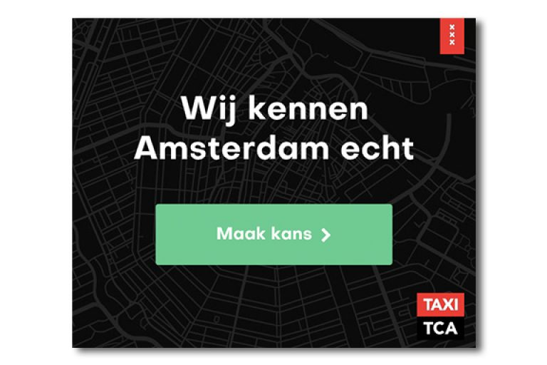 Taxi TCA Amsterdam HTML5 banner