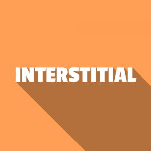 Interstitial banners