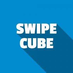 Swipe Cube banners