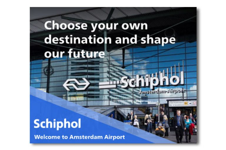Casestudy Schiphol HTML5 banner